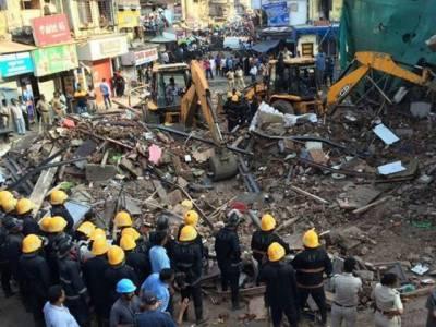 ممبئی میں عمارت منہدم ، 8افراد ہلاک