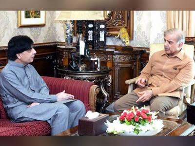 وزیر اعلیٰ شہباز شریف نے چودھری نثار کو منا لیا، ذرائع