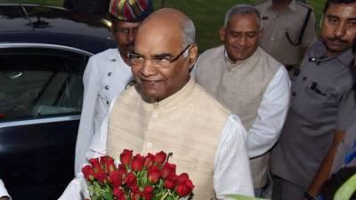 بھارت کے نئے صدر ٗ رام ناتھ گووند نے حلف اٹھا لیا
