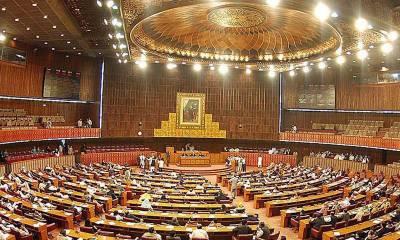 خورشید شاہ نے وزارت عظمیٰ کیلئے متفقہ امیدوار لانے کیلئے اپوزیشن کی پارلیمانی جماعتوں کا اجلاس آج صبح 10 بجے طلب کر لیا