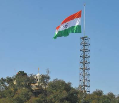 بھارت میں اٹاری کے مقام پر لہرایا جانے والا ترنگا باعثِ شرمندگی بن گیا