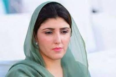 عائشہ گلالئی کا پی ٹی آئی چھوڑنے کا باقاعدہ اعلان