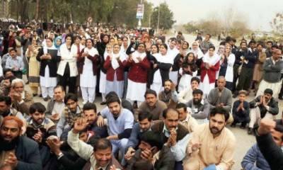 لاہور، فیصل آباد، رحیم یار خان اور ملتان میں ینگ ڈاکٹرز کی ہڑتال