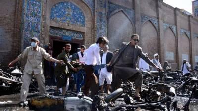 افغانستان میں مسجد پر دہشت گردوں کا حملہ ٗ 30شہید
