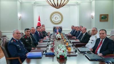 ترکی کی تینوں مسلح افواج کے کمانڈر ز تبدیل