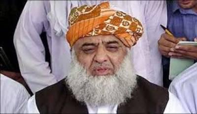 مولانا فضل الرحمان کا عائشہ گلالئی کے الزامات پر بات کرنے سے انکار