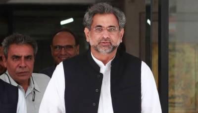 کشمیریوں کے حق خودارادیت کی اخلاقی، سیاسی اور سفارتی حمایت جاری رکھی جائے گی: شاہد خاقان عباسی