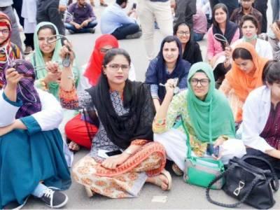 پنجاب میں ینگ ڈاکٹرزکی ہڑتال پانچویں روزبھی جاری