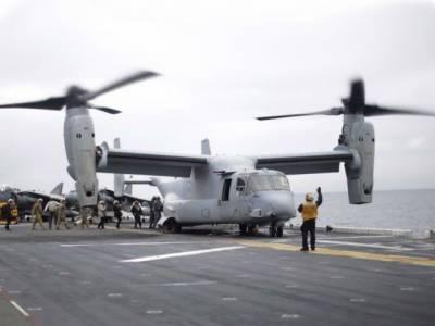 آسٹریلیا میں امریکی فوجی طیارہ حادثے کا شکار