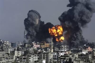 شام کے شہر رقاہ پر امریکی طیاروں کی بمباری،43شہری جاں بحق،متعدد زخمی