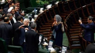 ایرانی پارلیمنٹ میں ہونے والی تقریب نے ایرانیوں کو شرمندہ کر دیا