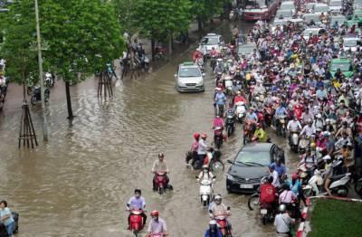 ویتنام میں سیلاب سے 26 افراد ہلاک، 41 ملین ڈالر کا مالی نقصان ہوا