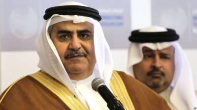 قطر کی حج کو سیاست زدہ بنانے کی پالیسی کو مسترد کرتے ہیں:بحرینی وزیر خارجہ