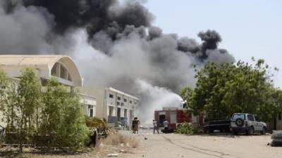 عرب اتحاد کے طیاروں کی بمباری، حوثی باغیوں کا بڑا اسلحہ ڈپو تباہ