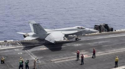 ایرانی ڈرون امریکی لڑاکا طیارے کے انتہائی قریب پہنچ گیا