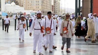 447300 عازمین حج سعودی عرب پہنچ گئے