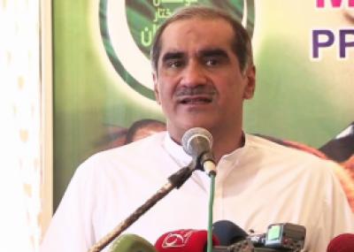 ڈیڑھ کروڑ ووٹ لے کر منتخب ہونے والے وزیراعظم کو نکال دیا گیا: سعد رفیق