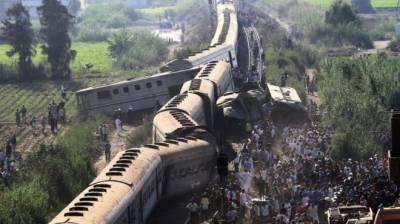 مصر میں مسافر ٹرینوں کے ٹکرانے سے 41 افراد جاں بحق