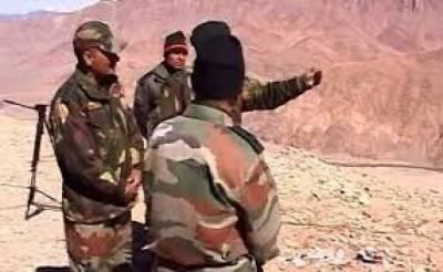 بھارت نے چین کے ساتھ اپنی سرحد پر مزید فوج بھیج دی