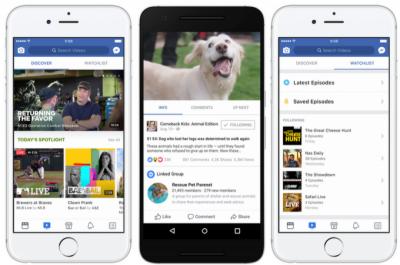 فیس بک اب یو ٹیوب سے ٹکرانے کیلئے تیار