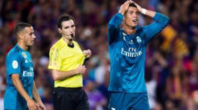 عالمی شہرت یافتہ فٹبالر رونالڈو پر 5 میچز کی پابندی