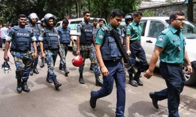 بنگلہ دیش میں مبینہ خود کش بمبار کو ہلاک کر دیا گیا