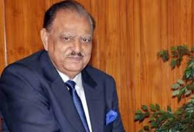 پاکستان یواے ای کے ساتھ اپنے تعلقات کو بہت اہمیت دیتا ہے،صدر ممنون حسین