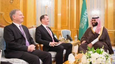 سعودی ولی عہد سے امریکی صدر ڈونلڈ ٹرمپ کے ایلچی کی ملاقات
