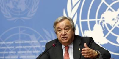 سیکرٹری جنرل اقوام متحدہ کی امریکہ میں نسل پرستانہ سوچ کی مذمت