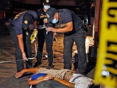 فلپائن میں منشیات فروشوں کے خلاف آپریشن ِ،32 افراد ہلاک