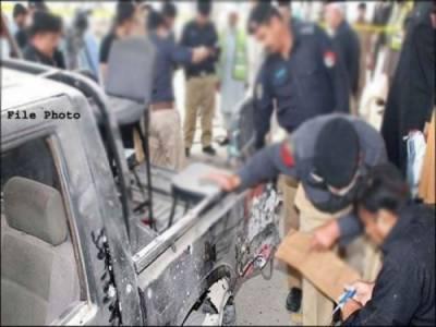 کراچی میں فائرنگ، ایک پولیس رضا کار جاں بحق، دوسرا زخمی