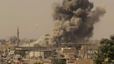 شام: اتحادی افواج کے فضائی حملوں ميں 59 شہری جاں بحق