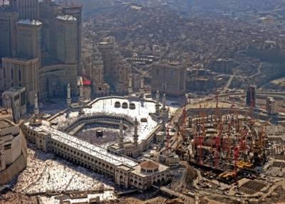 سعودی تعمیراتی کمپنی بن لادن نے حرم مکی میں کام کا دوبارہ آغاز کر دیا ،سعودی ذرائع