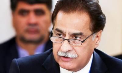 وزیر اعظم کا وفادار کیوں کہا؟ اسپیکر قومی اسمبلی کا جسٹس آصف سعید کھوسہ کیخلاف ریفرنس
