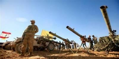 لبنانی فوج کاشام کے ساتھ ملحقہ سرحدی علاقے میں داعش کے خلاف عسکری آپریشن