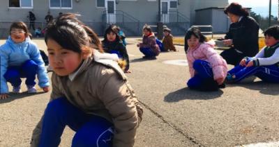 شمالی کوریا کے ممکنہ حملے کے تناظر میں جاپانی شہر میں بچاؤ کی مشق