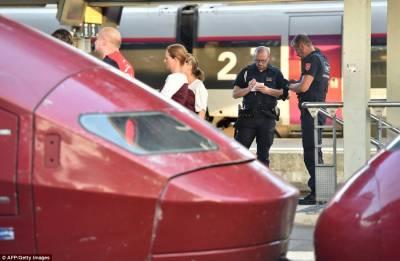 فرانس میں حملہ آوروں کی ٹرین پر فائرنگ