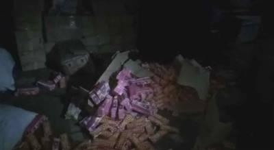 لاہور: پولیس کی دو مختلف مقامات پر کارروائی، آتش گیر مواد برآمد کر لیا