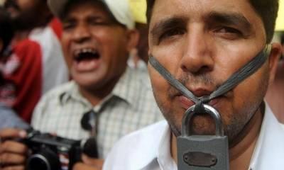 34 فیصد پاکستانی سمجھتے ہیں کہ ملک میں آزادی اظہار رائے کے حق کا احترام کیا جاتا ہے،گیلپ سروے
