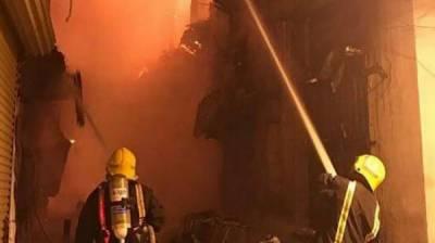 فیصل آباد: گارمنٹس فیکٹروں میں آگ بھڑک اٹھی