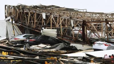 امریکی ریاست ٹیکساس میں سمندری طوفان ہاروی نے تباہی مچادی
