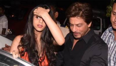شاہ رخ خان کا بیٹی کو بالی ووڈ میں لانے کیلئے کرن جوہر سے رابطہ
