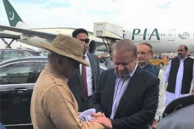 سابق وزیراعظم نواز شریف لاہور ایئر پورٹ سے لندن روانہ ہو گئے