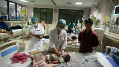 بھارتی ریاست اتر پردیش میں پراسرار طور پر42بچے ہلاک