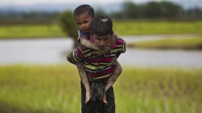 روہنگیا میں مسلمانوں کا قتل عام،2,600 سے زیادہ مکانوں کو نذر آتش کردیا گیا