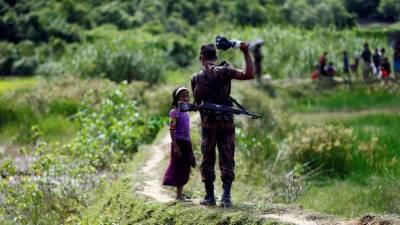 روہنگیا مسلمانوں کی بنگلہ دیش ہجرت کی تصاویر دیکھیں
