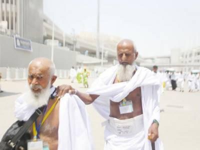 سعودی میڈیا دو معمر پاکستانی حجاج کا دیوانہ ہو گیا ، ہر طرف چرچے