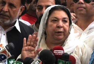 یاسمین راشد کا صوبے سے باہر کے پریزائیڈنگ آفیسرز کی تعیناتی کا مطالبہ
