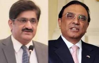 وزیر اعلی سندھ منسوخ کئے گئے نیب قوانین کا از سر نوجائز ہ لیں:آصف علی زرداری