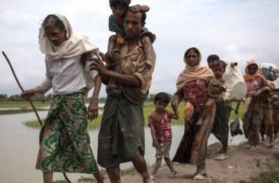بھوک سے نڈھال روہنگیا مسلمان مہاجرین کیمپوں میں اشتعال